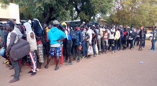Rapatriement des n gro africains de l alg rie et de la for Malien de l exterieur